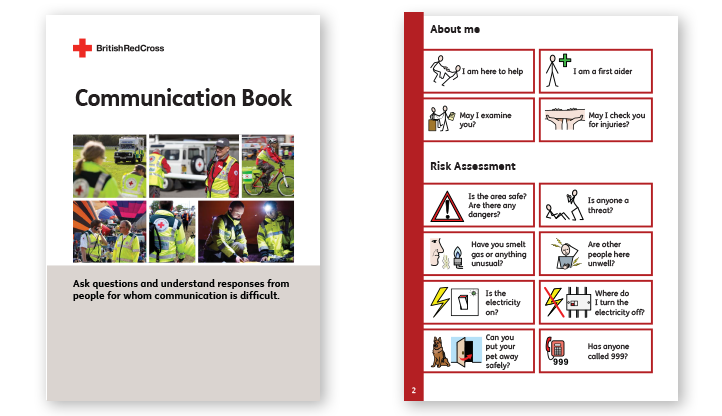 Symbol Communication Book