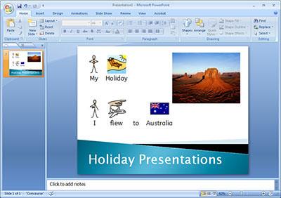 symbol in powerpoint