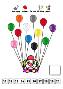 Count Balloons